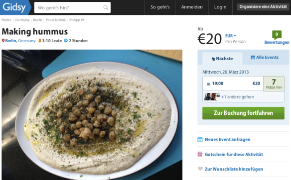 gidsy hummus