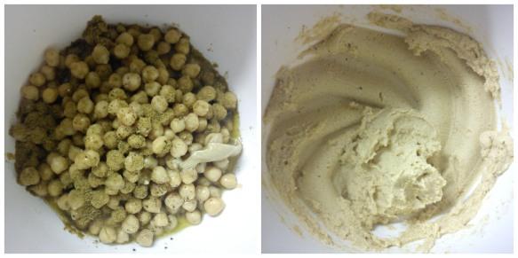 1 minute hummus