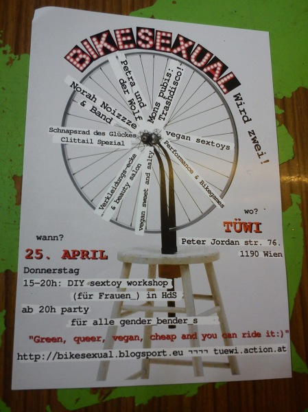 bikesexual flyer