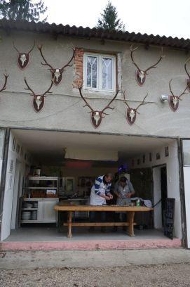 offene küche, garagen-style