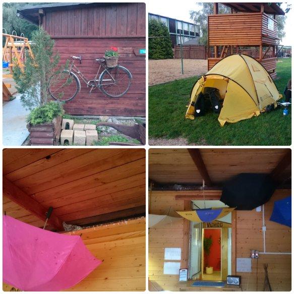 campingplatz mit schwalben